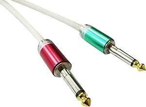 【Live Line】Advance系列 10M S/S插头 白色电缆 S型FIT插头(红色)-S型FIT插头(绿色)定制品 AELLLAWH10MSFSFRdGr
