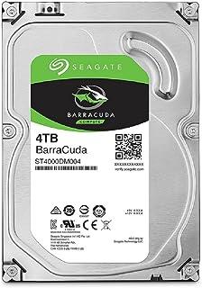 SEAGATE 内置硬盘3.5英寸 4TB 适用于PC用户 BarraCuda ( SATA 6Gb/s / 5400rpm ) ST4000DM004