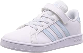 Adidas 阿迪达斯 儿童运动鞋 儿童用 大衣 [Grand Court Shoes](EPF89)