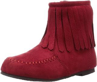 [BAVY DEAR] 流苏靴 流苏靴(13~21cm)◆1980-16005-3400◆儿童 女童鞋 儿童鞋 流苏 靴子 拉链