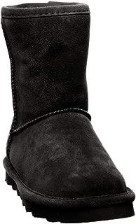 Bearpaw Helen 儿童保暖舒适靴黑色 - 2 M US 小童 M 码