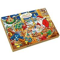 Lindt 瑞士莲 圣诞日历倒数巧克力书, 1盒装 (1 x 280 g)