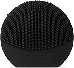 FOREO 斐珞尔 LUNA Play Plus 便捷式洁面仪,黑色,可更换电池,防水