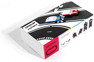 Candylab X Waytoplay - 赛道套件 2 个山毛榉木糖果车和 12 件模块化道路套件 - 特别版*