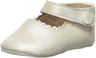 Elephantito Baby Mary Jane-K 儿童学步鞋 Suede Talc 1 M US Infant
