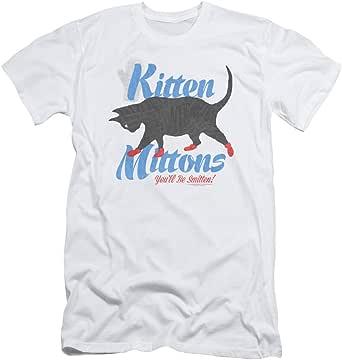 Its Always Sunny In Philadelphia Kitten Mittons 男式修身衬衫
