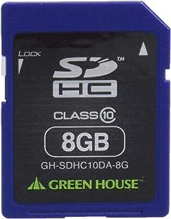 免费恢复绿色屋消除数据 附有数据复原服务SDHC卡 8GB GH-SDHC10DA-8G