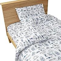爱丽思 床上用品套 床罩 3件套 (被套/床单/枕套) 单人 白色