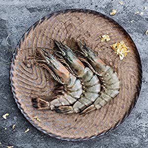 ICEFRESH 马来西亚进口生冻黑金虎虾基围对虾大虾野生鲜活海鲜250g(亚马逊自营商品, 由供应商配送)