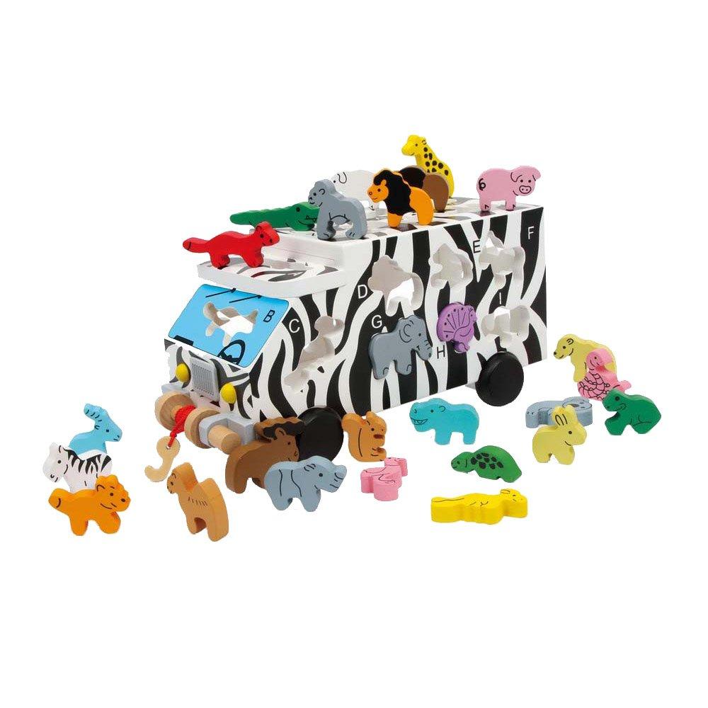 Legler ABC 动物母婴学前学习玩具