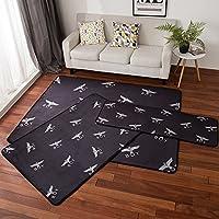 宝被 北欧浪漫小清新客厅茶几地毯 简约现代床边毯可爱家用地垫子 时尚boy 150X195cm