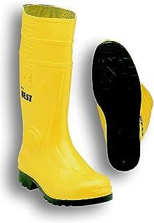 Sheba 10 EC 靴子,PVC,黄色/黑色 S5,尺码 46
