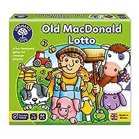 Orchard Toys 桌面游戏 老麦克唐纳德乐透(亚马逊进口直采,英国品牌)