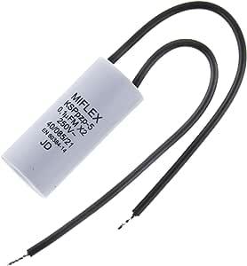 消光电容器 0.1 微米 250 伏 15.5x35.5mm ; Miflex ;0.1 uF KSPpz-5 100nF