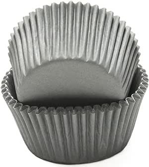 Chef Craft 烘焙杯 灰色 50 Pack 21866