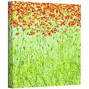 ArtWall Spring Arabesque 作者 Herb Dickinson 画廊包装油画艺术品 24 到 24 英寸 0dic005a2424w