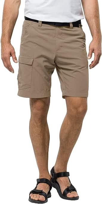 Jack Wolfskin 男式霍格短裤,坚固尼龙裤,防紫外线
