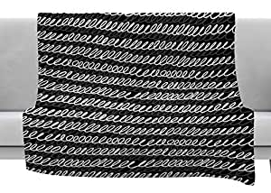 Kess InHouse Ivan Joh Squiggles 羊毛毯 50x60; 60x80 IJ1026AFB03