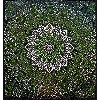 Truesellershop 复古棉*迷幻曼陀罗嬉皮挂毯印度壁挂式床单
