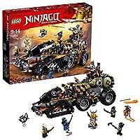 LEGO 乐高  拼插类 玩具  Ninjago 幻影忍者系列 重型捕龙卡车 70654 9-14岁