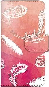 智能手机壳 手册式 对应全部机型 印刷手册 cw-085top 套 手册 羽毛 UV印刷 壳WN-PR068326-M ARROWS A 101F 图案C
