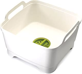 Joseph Joseph 洗净沥干刷碗槽 - 白色/绿色