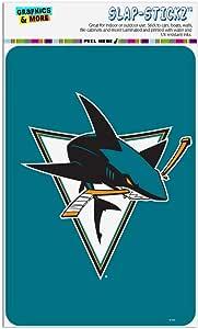 "GRAPHICS & MORE NHL 圣何塞鲨鱼标志家居商务办公室标志 多种颜色 4"" x 6"" STL07.NHL01.Z005564_8"