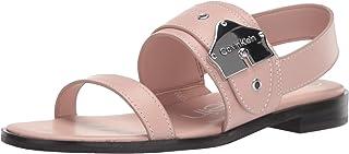 Calvin Klein 女士 Telisha 平底凉鞋