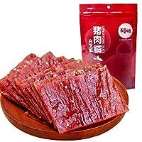 BCW 百草味 白芝麻猪肉脯100g/袋(零食 特产 肉脯 靖江 猪肉脯)