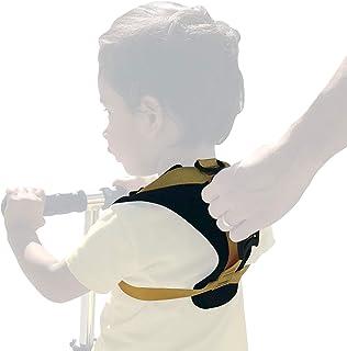 兒童耐用兒童*背帶/自行車背帶 - 胸圍 18-21,12 個月 - 3T。 產品特點:易握手柄,加墊肩帶,加固縫合,金屬 D 型環。 兒童*帶和兒童*帶。