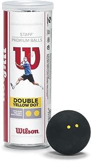 Wilson Staff Squash 球(3 只装)