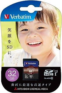 Verbatim 巴贝塔 SDHC存储卡 32GB UHS-1 U1 Class10 *大读取45MB/秒 SDHC32GJVB4