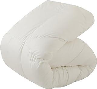 東京西川 羽絨被 鵝絨羽絨95% 貼合身體 羽絨不易偏移 西川 高級 素色 *防臭 日本制造 白色 シングル KA07119024W