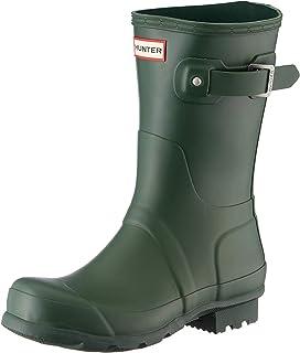 Hunter Boots 女 Original short 经典短雨靴 WFS1000RMA