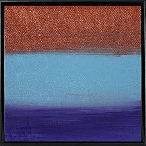 Frame USA Dreaming of 21 日落 - Canvas III-HILWIN110919 印刷 17.15 厘米 x 17.15 厘米 Hilary Winfield 出品 Black Metal Frame 6.75x6.75 110919-12-14FUSA