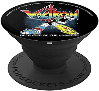Voltron:宇宙的保护者肖像 PopSockets 手机和平板电脑握架260027  黑色