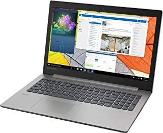 Lenovo 笔记本电脑 Windows 10 英特尔酷睿 i3-8130U 双核处理器 4GB RAM 1TB 硬盘 81DE00LAUS