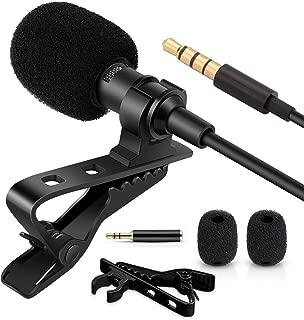 EVISTR 便携式外置麦克风录音配件,适用于数码录音机