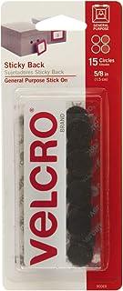 VELCRO 品牌 - 粘性背钩和环紧固件 15Pk 90069 1