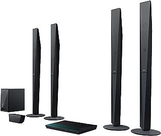 Sony - E2100 5.1蓝光家庭影院系统 (1000瓦, 3d, W - LAN, 智能电视, 蓝牙, NFC) 黑色 4905524897203