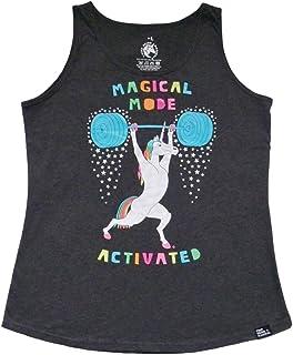 魔法模式激活举重独角兽女式背心