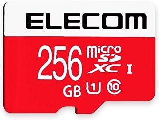 Elecom宜丽客 microSDXC卡 256GB UHS-I/U1/Class10 NINTENDO SWITCH已验证 GM-MF接口/G