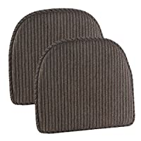 """Gripper Nikita Delightfill 椅垫(2 件套) 灰褐色 15"""" x 16"""" x 2"""" 877455-24A"""
