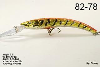 Akuna Hypnotizer Series 5.9 inch Diving Lure
