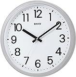 DAILY(节奏时钟) 石英表 平面表盘 银色 4KGA06DN19