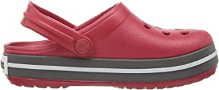 Crocs 卡骆驰儿童 Crocband 洞鞋 | 幼儿、男孩、女孩一脚蹬水鞋 | 轻质