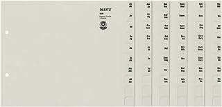 Leitz 13510085 登记系列 A-Z A4 纸张 适用于75 个文件夹 灰色