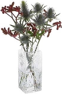 Dartington 水晶 Marguerite 高花瓶 透明,210 mm (H)