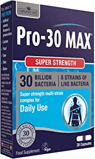 natures aid pro-30 max (30 billion daily probiotic) 30 个帽子