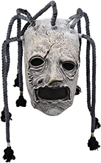 Corey Taylor 乳胶面具 Dreadlocks Slipknot Fancy Dress 万圣节角色扮演音乐派对道具